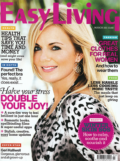 Easy Living Mar 2011 cover