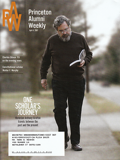 Princeton Alumni Weekly 1 cover