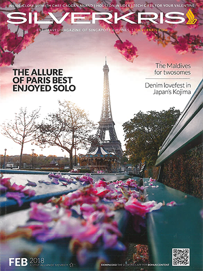 Singapore Airlines Paris cover