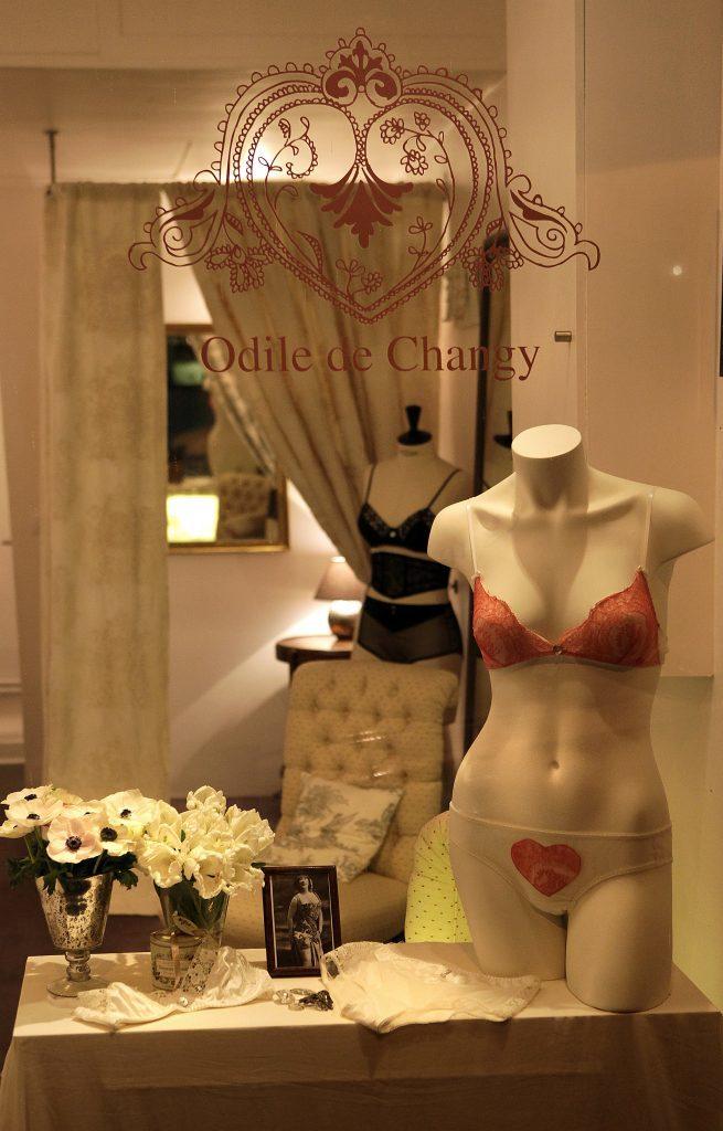 Boutique Odile de Changy 6 rue du pont aux Choux 75003 Paris