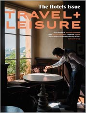 Travel and Leisure May 2021 cover